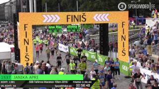 JANIKA APRI 1537 l SEB Tallinna Maraton 10km 2016