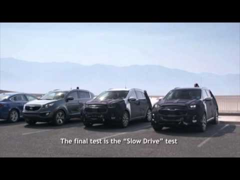 Новый Kia Sportage тестируют в Долине Смерти