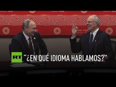 Putin und Kuczynski auf der Suche nach einer gemeinsamen Sprache