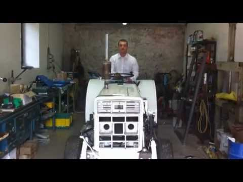 Dispositivo antiribaltamento per trattori