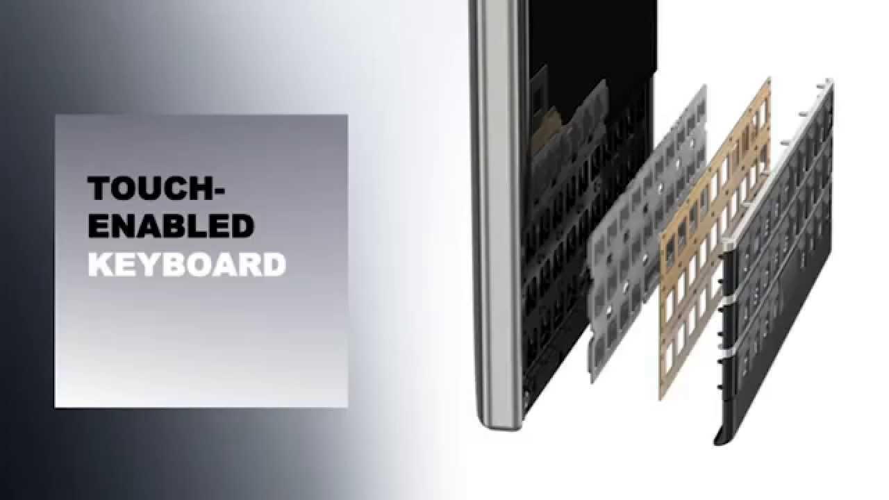 BlackBerry Passport Launch, London – Touch Enabled Keyboard
