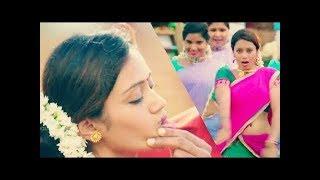 image of Nivetha pethuraj hot lips press and navel show unseen video