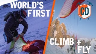 World's First: Climb+ Fly Cerro Torre | Climbing Daily Ep.1604 by EpicTV Climbing Daily