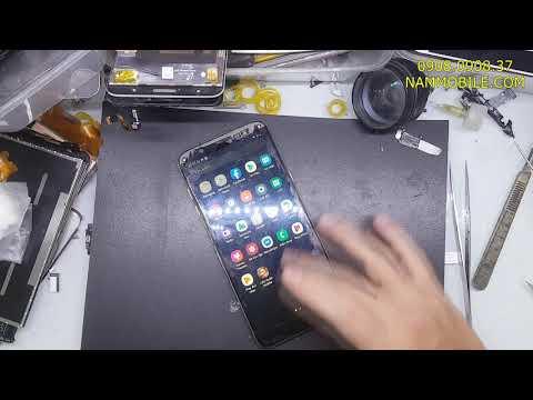 Thay ep kinh Samsung A6 Plus A605