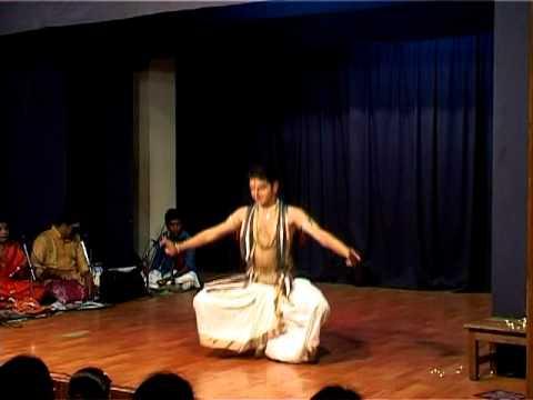 Bharatanatyam performance by Yatin Agarwal.  Varnam part 7