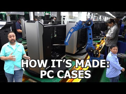 How PC Cases Are Made: Raw Metal to Retail Box