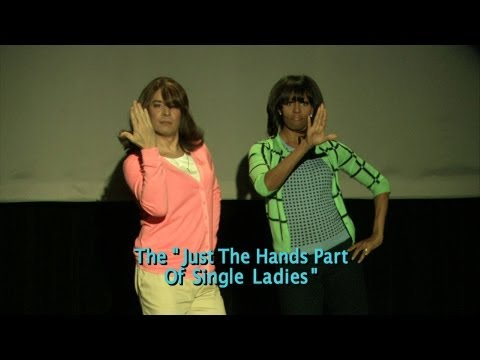 La evolución del baile de mamá - Jimmy Fallon & Michelle Obama