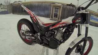 8. 2014 Beta EVO 300 2-Stroke Walk Around, Moto Trials, Motorcycle, Trials Bike, 3 Seas Recreation