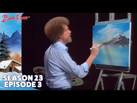 Bob Ross - Mountain Ridge Lake (Season 23 Episode 3)