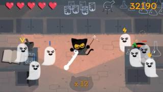 Google Halloween Game 2016 - Momo, the Spell Casting Cat (105k)