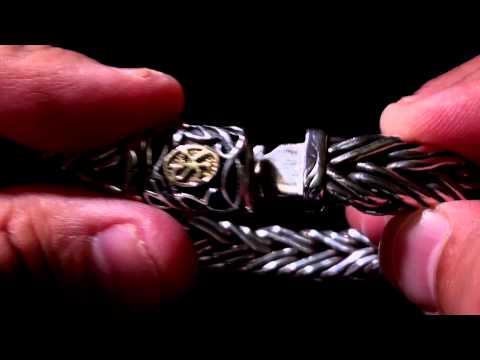 SUBSCRIBERS REQUEST: My Scott Kay Sterling Silver & 18k Handmade Bracelet (like David Yurman)
