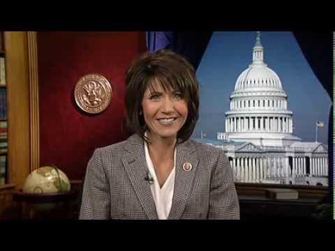 Rep. Kristi Noem reacts to Wetland Conservation Achievement Award. (http://noem.house.gov/)