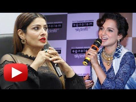 Raveena Tandon EXPOSES Bollywood, SUPPORTS Kangana