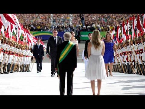 Brasilien: Neuer Präsident Bolsonaro präsentiert