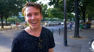 FIRST DAY IN THE LIFE VLOG // PARIS by Eric Karlsson Bouldering