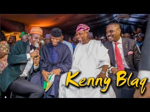 KENNY BLAQ LATEST MUSIC COMEDY PERFORMANCE ft. TIWA SAVAGE