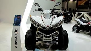 9. 2014 Kymco Maxxer 450i All Terrain Vehicle Walkaround - 2013 EICMA Milano Motorcycle Exhibition