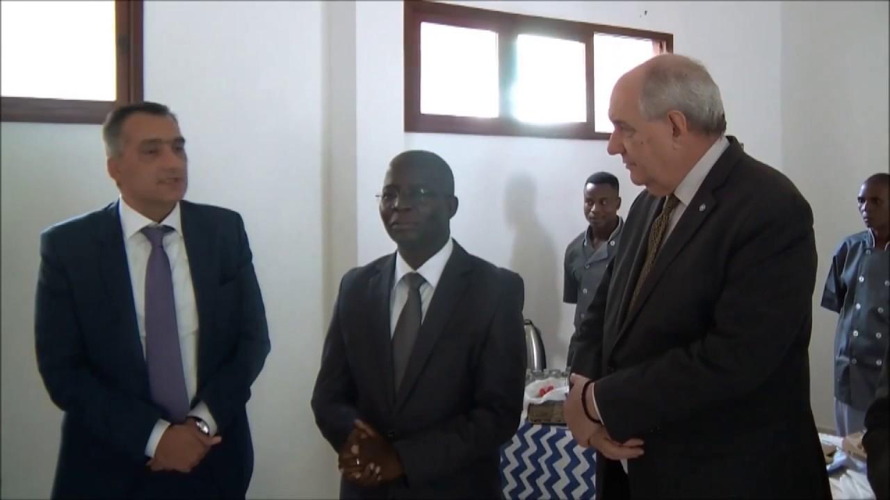 Επίσκεψη του υφυπ. Εξωτερικών Τ. Κουίκ στην Μοζαμβίκη