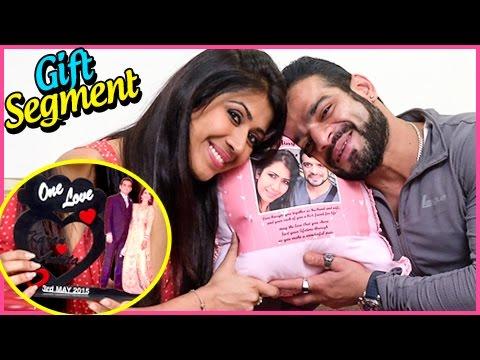 Karan Patel And Ankita Bhargava Gift Segment |