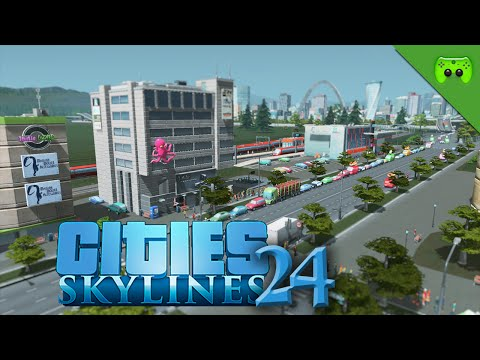 CITIES SKYLINES # 24 - EURE HILFE «» Let's Play Cities Skylines   HD60