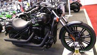 5. 2017 Kawasaki Vulcan 900 Custom - Walkaround - 2017 Montreal Motorcycle Show
