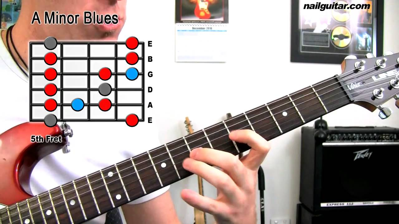 A Minor Blues Scale – Guitar Lesson (Must Learn For Rock & Blues Soloing)