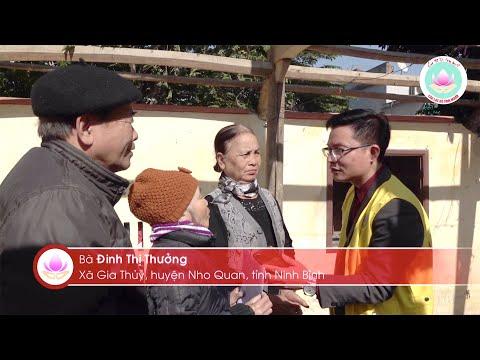 Câu lạc bộ Tình Người mang xuân ấm đến với bà con nghèo huyện Nho Quan, tỉnh Ninh Bình