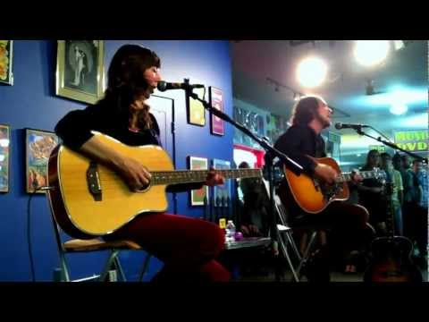 EarvinGotti - Silversun Pickups - Panic Switch - Acoustic Live at Amoeba Records, Haight Street, San Francisco, California 5/9/2012.