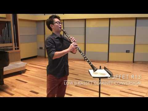 Low B Basset Clarinet - Jun Watabe