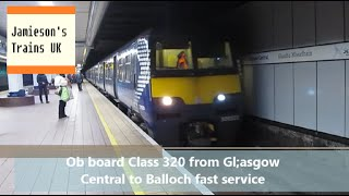 Balloch United Kingdom  city photos gallery : Ob board Class 320 from Glasgow Central to Balloch fast service
