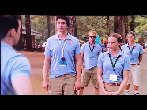 DC's Legends of Tomorrow 4x04 - Ray, Sara, Ava & John at Camp Ogawa