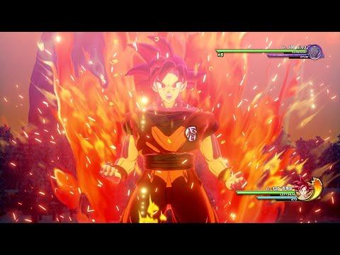 Dragon Ball Z Kakarot - Super Saiyan God Goku vs Beerus Boss Battle Gameplay! DLC