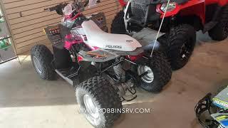 8. 2019 Polaris Outlaw 110 Pink