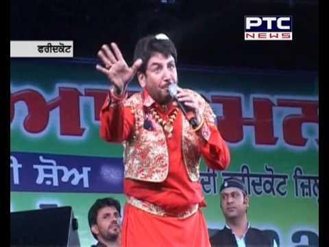 Gurdas Mann performes on the concluding day of Baba Farid Mela