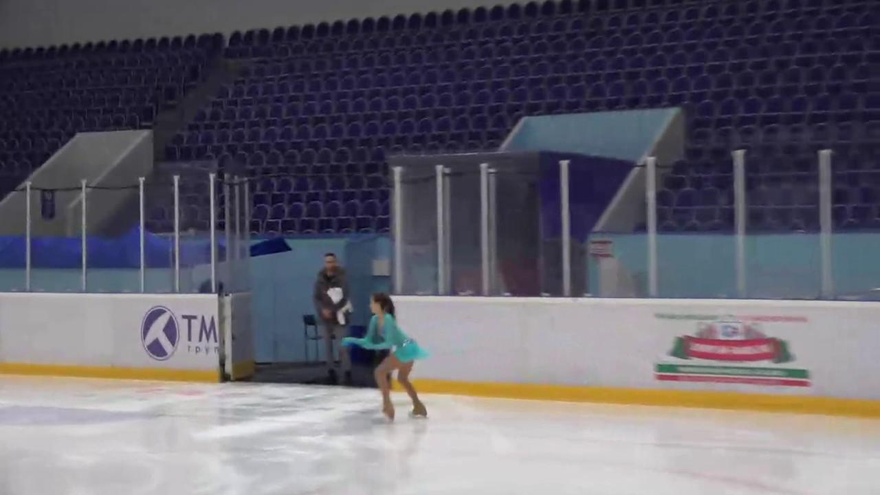 Алина Загитова выиграла 4-й этап Кубка России