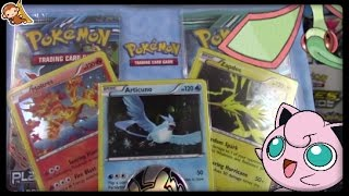 Pokemon Cards! Opening a Legendary Birds Plasma Blister! by Master Jigglypuff and Friends