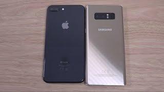 iPhone 8 Plus vs Samsung Galaxy Note 8 - Speed Test!