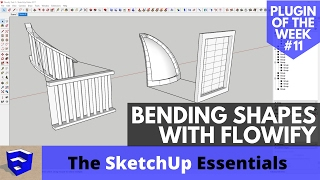 Video Bending Shapes in SketchUp with Flowify - SketchUp Plugin of the Week #11 MP3, 3GP, MP4, WEBM, AVI, FLV Desember 2017
