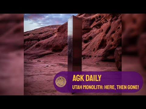 AGK Daily: The Utah Monolith: What are your theories?