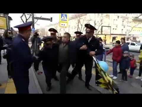 Καζακστάν: Διαδηλώσεις για την αλλαγή του ονόματος της πρωτεύουσας…
