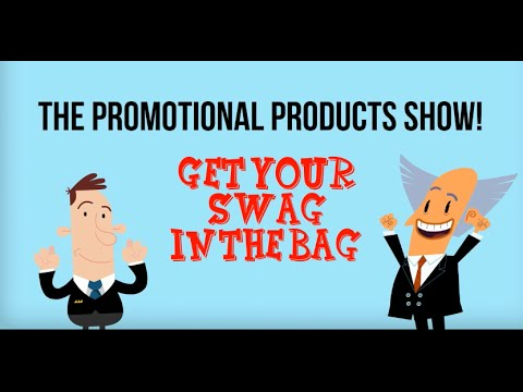 The Promotional Products Show – Get Your Swag In The Bag
