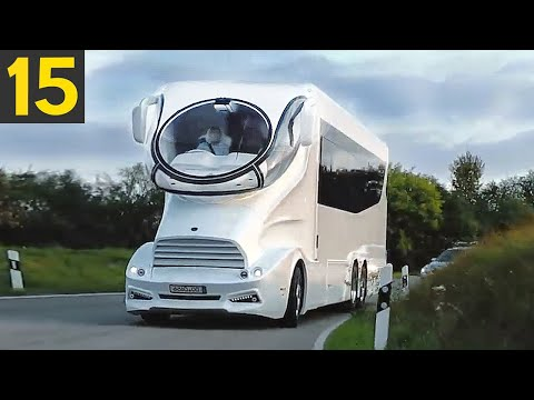 15 MOST Luxurious RVs In The World