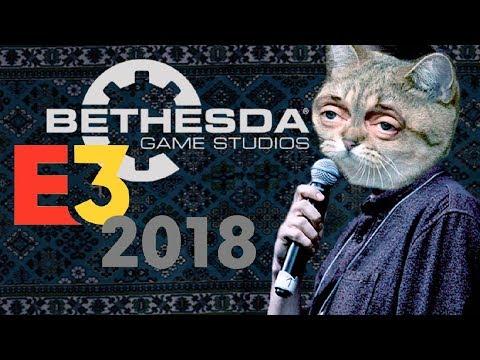 E3 и Bethesda НА РУССКОМ С ДЕХИАРОМ [11.06.2018 в 04:00 ПО МСК]