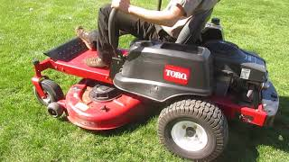 6. Toro Time Cutter 4200 zero turn mower