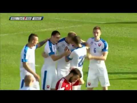 ไฮไลท์ฟุตบอล Slovakia 3 - 1 Georgia   27/5/2016