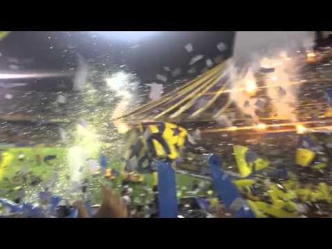 Recibimiento Rosario Central-River Plate 2016 - Los Guerreros - Rosario Central