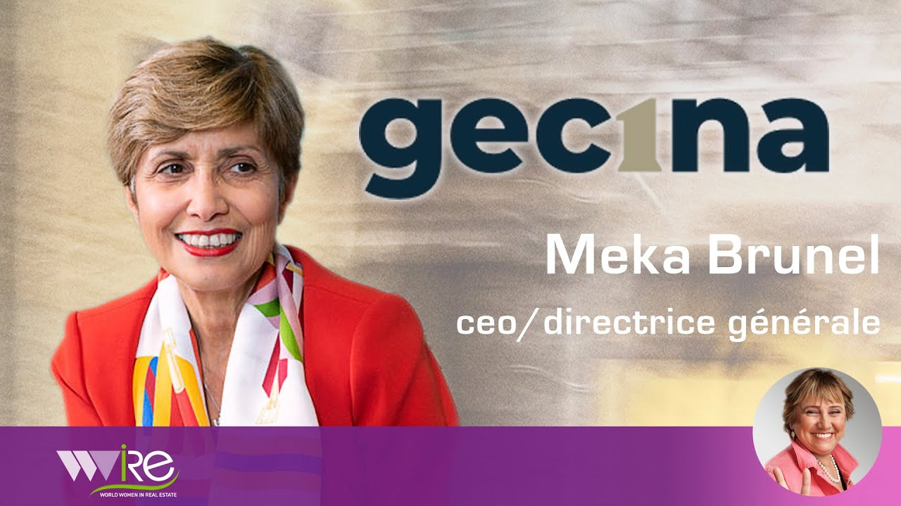 Interview de Méka Brunel CEO/Directrice Générale de GECINA au PROPEL by MIPIM 2020