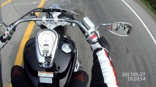 10. Boulevard C50T Quick ride, Suzuki demo day.