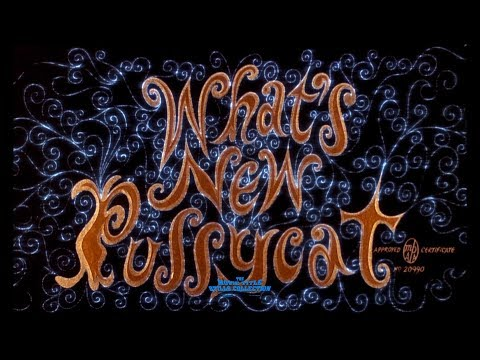 What's New Pussycat (1965) title sequence