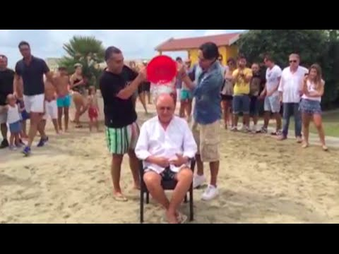 l'ice bucket challange di adriano galliani